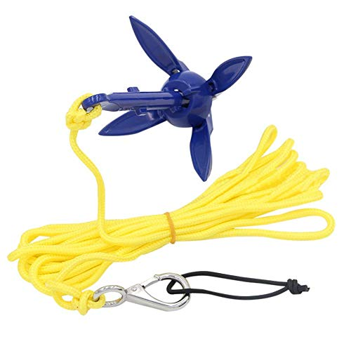 Anchor Kit,Complete Anchor System,Fishing Gear for Boats,River Fishing Accessories for Kayak, Canoe, Jetski, Inflatable Boat, Dinghy, Small Iron Anchor