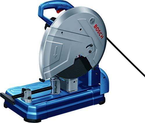 Bosch 0601B37200 0601B37200-GCO14-24J Sierra tronzadora para Metal/Ø del Disco de Corte 355mm/ 2400W + Caja de cartón