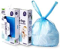 おむつがにおわない袋 おむつ 処理袋 200枚入り 防臭袋 消臭袋 ビニール袋 トイレ用ゴミ袋 ゴミ袋 持ち運び便利