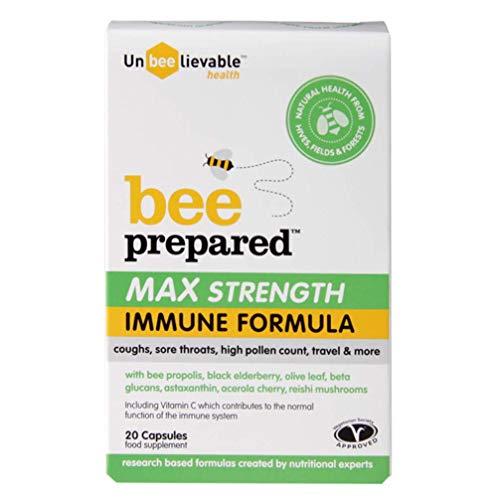 (Pack Of 2) Bee Prepared Max Strength | UNBEELIEVABLE HEALTH