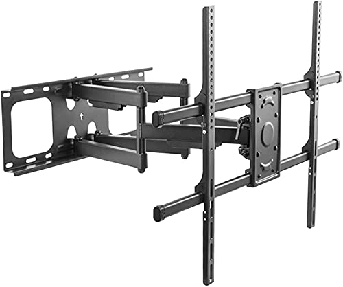 MWKL Soporte de TV montado en la Pared Mejorado Soporte de Montaje en Pared de TV de 50'-75' de extensión giratoria de Movimiento Completo