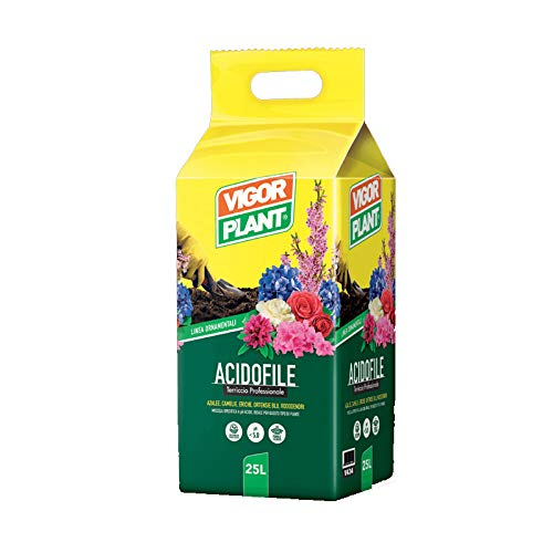 Vigorplant Terriccio Universale per Piante Acidofile, confezione da 25 lt