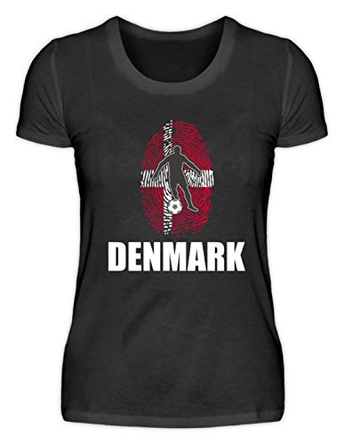 Camiseta para mujer de la selección danesa de la selección alemana de...