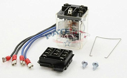 Field Controls 46111100 RJR-6 120V SPST Relay Kit for CK-62 and CAC-120 Control Kits
