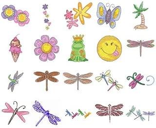 Tacony Corporation Simplicity SMC13 Girl-Power Embroidery-Design Memory Card