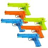 Schramm 6-Pack Pistola de Agua Classic ca. 17cm Pistola de Agua Pistola de Agua Pistola de Agua