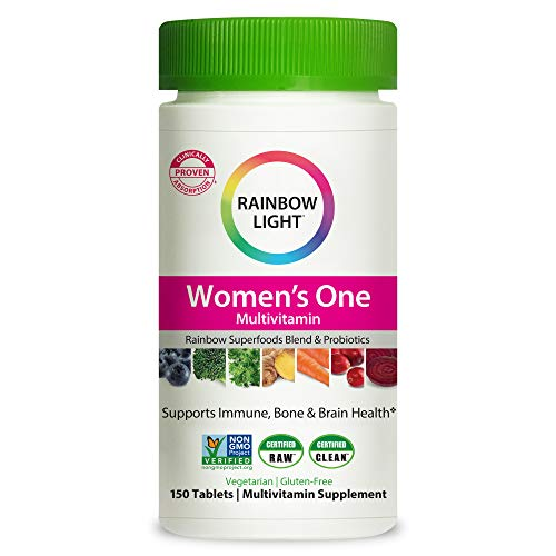 Rainbow Light Women's One Multivitamin, Once-Daily Nutritional Support, 150 Count (Packaging May Vary)