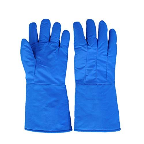 Niedrigtemperaturresistente Handschuhe flüssiger Stickstoff-Trockeneis Frost Frost Kühlschlaf Lng Liquefied Gas Super Cold Protection Handschuhe,XL