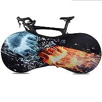 自転車ホイールカバー、 自転車ダストカバーホイール保護カバー、 屋内防塵弾性自転車収納袋、 MTBロードバイクの場合、 床や壁に汚れがないようにする (Color : Bicycle dust cover 6, Size : Large)