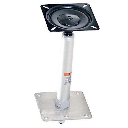 wellenshop Sockelfuß Pedestal mit Federdämpfung für Bootssitz Höhe 425 mm Stuhlfuß
