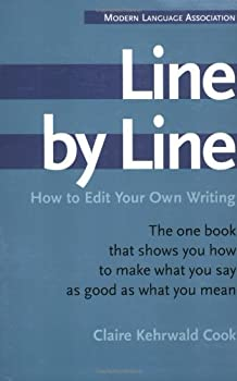 Paperback Line by Line: How to Edit Your Own Writing Book