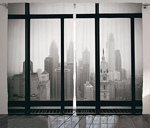 City Curtains Philadelphia Rooftop San Diego Mall View Skyline 67% OFF of fixed price Landmarks