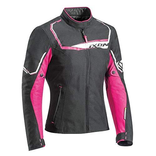 Ixon Chaqueta moto Challenge Lady Negro/FUSHIA, Negro/Fuschia, L