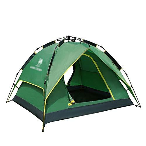 Utilisation multiple Sports de plein air Tente de protection solaire anti-pluie extérieure imperméable et respirante coupe-vent double vitesse automatique Ouvert Camping Camping Pliable Équipement d'e