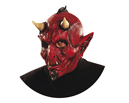 My Other Me MOM00372 Masque de Diable pour Adultes Taille Unique