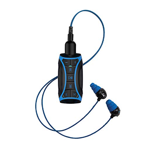 100% Waterproof Stream MP3 Music Player with Bluetooth and Underwater...