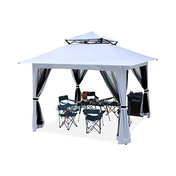 ABCCANOPY 13'x13′ Canopy with Mosquito Netting Outdoor Gazebo 169 sq.ft...