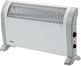 Supra Quickmix 2-2500 Color blanco 2500W Radiador - Calefactor (Radiador, Pared, Piso, Color blanco, Giratorio, 2500 W, 660 mm)