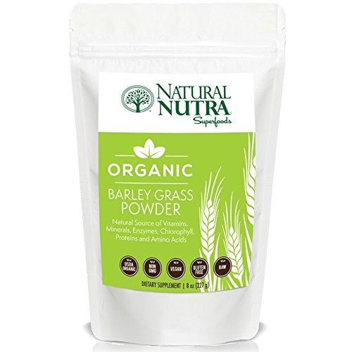 Organic Barley Grass Powder by Natural Nutra