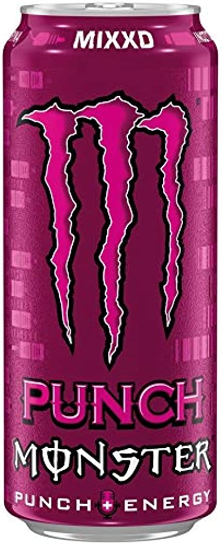4 x 12 monster energy punch mixxd lattina pl (48 x 0,5l) B08333T4L8