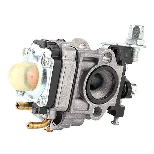 Carburador de acero inoxidable, piezas de repuesto de carburador de cortasetos aptas para Kawasaki TH23 TH26 TH34 23CC 25CC 26CC 33CC 35CC