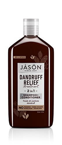 Jason schubben reliëf 2 in 1 shampoo & conditioner 355 ml