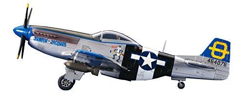 ハセガワ 1/72 アメリカ陸軍 P-51D ムスタング プラモデル D25