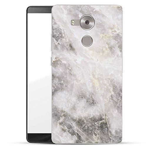 Finoo Hardcase Handyhülle für Dein Huawei Mate 8 Made In Germany Hülle mit Motiv & Optimalen Schutz Tasche Case Cover Schutzhülle für Dein Huawei Mate 8 - Marmor 01