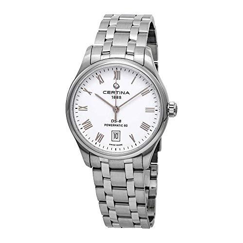 Certina DS-8 Automatic White Dial Men's Watch C033.407.11.013.00