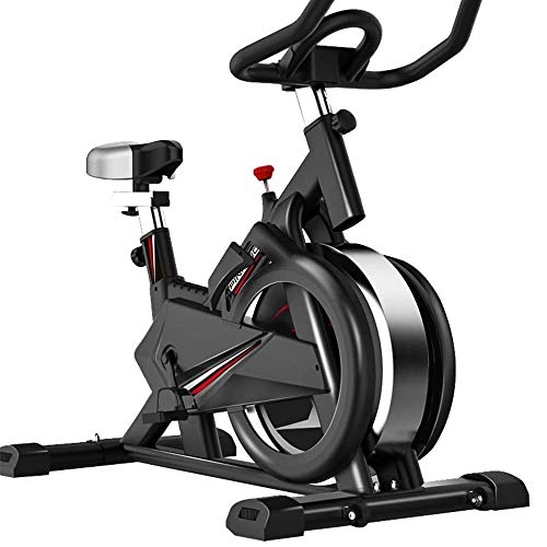 YLJYJ Bicicletas estáticas Spinning Fitness Bike Home Silent All-Inclusive Sports Self-Biking Smart Game App Ejercicio Spinning Bikes para Home Gym