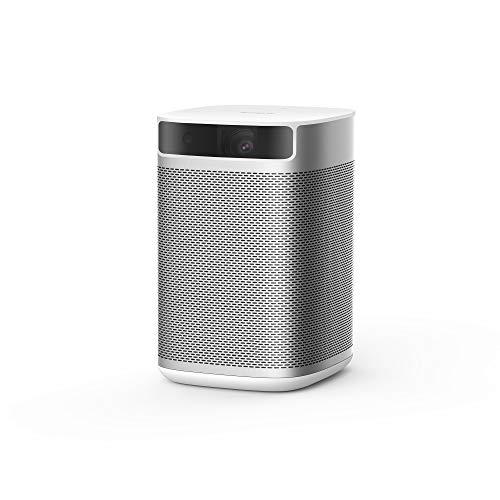 XGIMI MOGO proyector portatil Intelligente, 210 ANSI Lumen, Proyector LED, Mini proyector con Android TV 9.0, Youtube y más de 4000 Aplicaciones lección en línea