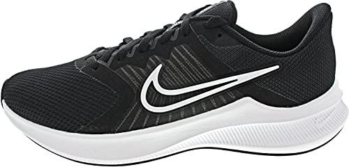 Nike Downshifter 11, Scarpe da Corsa Uomo, Black/White-Dk Smoke Grey, 47.5 EU