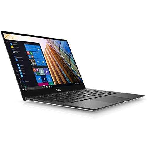 Dell XPS 13 7390, Silver, Intel Core i7-10710U, 8GB RAM, 512GB SSD, 13.3' 1920x1080 FHD, Dell 1 YR WTY + EuroPC Warranty Assist, (Renewed)