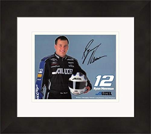 Ryan Newman NASCAR Auto Racing Double Matted 8x10 Photograph Close Up