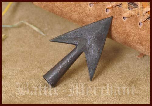 Wilbers Karnaval - Flecha de caza (forjada a mano, medieval)