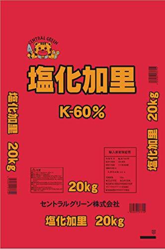 サンガーデン 塩化加里(顆粒) 20kg