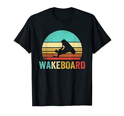 Vintage Wakeboard Shirt Sunset