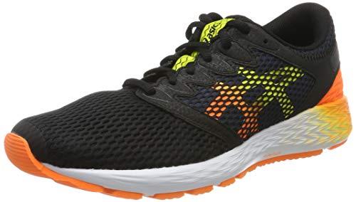 Asics Roadhawk FF 2, Zapatillas de Running para Hombre, Noir Orange, 43.5 EU