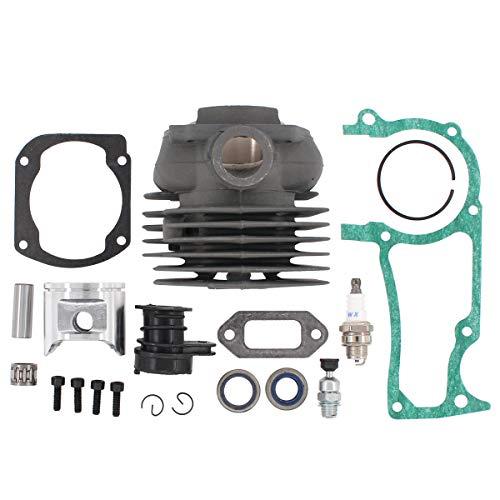 ApplianPar 50mm Cylinder Piston Gasket Kit 575 25 57-02 575255702 for Husqvarna 365 372XP X-Torq Chainsaw