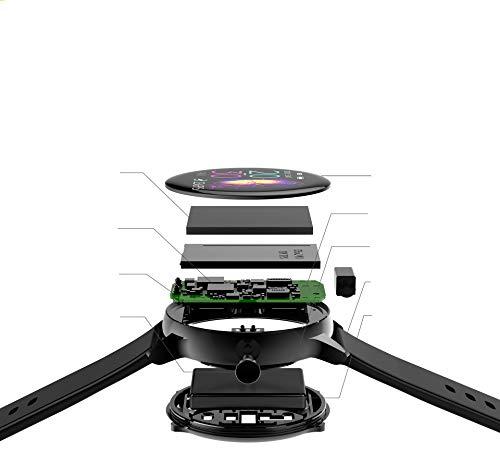 Smartwatch Damen Fitness Armband Uhr   GRATIS Metallband   Sport Bluetooth Kalorien Tracker Pulsuhr Schrittzähler Blutdruckmessung   Voll Touch Screen IP68 Wasserdicht IOS/Android