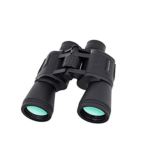 20x50 Binocolo per Adulti, Binocoli Professionale HD Telescopio BAK4 Prisma FMC con Cinghia e Borsa per Bird-Watching, Attività all Aperto, Sport stadio, Concerti