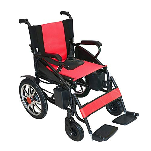 Find Discount Culver Electric Power Wheelchair Scooter Fold & Travel Folding Safe Electric Wheelchai...