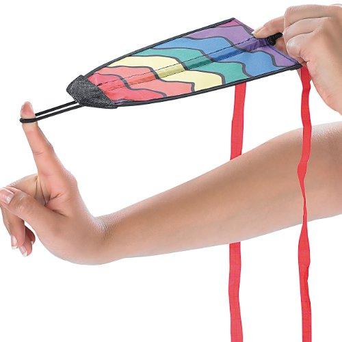 Playtastic Fingerdrachen: Finger-Drachen 15 x 20 cm mit 10 Meter Flugweite (Flugdrachen)