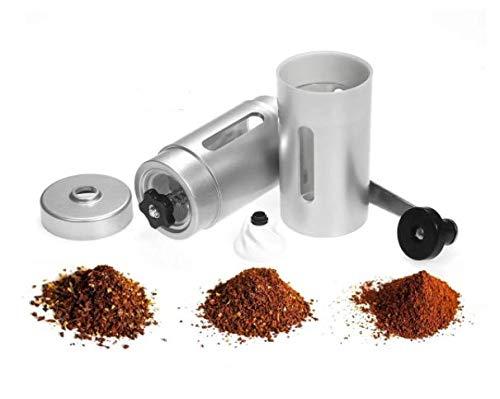 Moedor De Café Manual Triturador de Grãos Em inox C/Ajuste