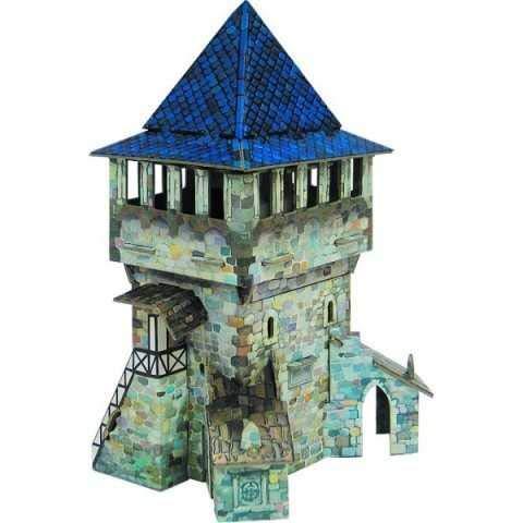 PUZZLE 3D CARTÓN 'TORRE ALTA MEDIEVAL'. CLEVER PAPER 142421