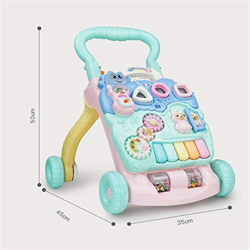 BABIFIS Trotteur Polyvalent pour bébé 0-2 Ans Enfant Trotteur Anti-Renversement