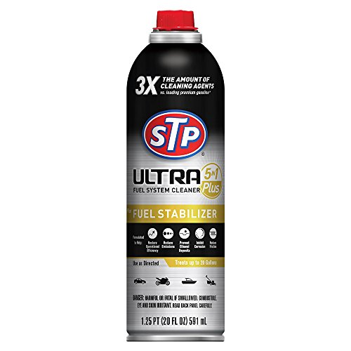 Price comparison product image STP Fuel System Cleaner and Stabilizer,  Ultra 5-in-1,  Advanced Synthetic Technology,  20 Fl Oz,  18315