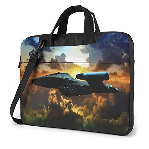 15.6 inch Laptop Shoulder Briefcase Messenger St-ar-Tr-ek Tablet Bussiness Carrying Handbag Case Sleeve