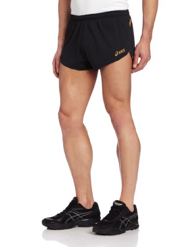 ASICS Pantalones Cortos Til Split para Hombre, XXL, Color Negro