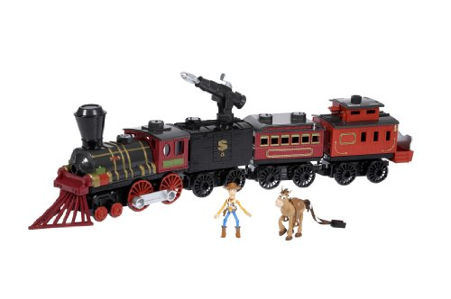 Matchbox Toy Story 3 Mega Rig Western Train Building System